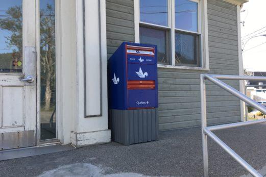 Poste Québec à Percé…