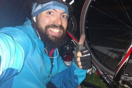 Hans Jérome Hunt roulera 2000 km aller-retour Chandler Montréal