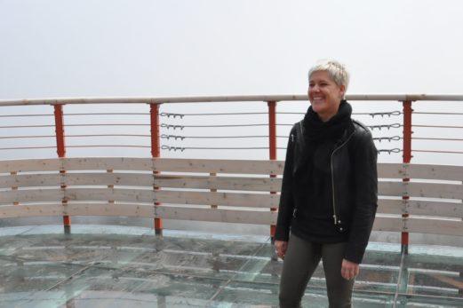 Cathy Poirier se présente à la mairie de Percé