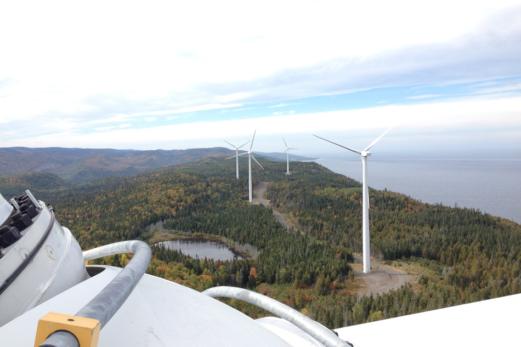 Cartier énergie éolienne donne 25 000 $ pour la reconstruction du Théâtre de la Vieille Forge!