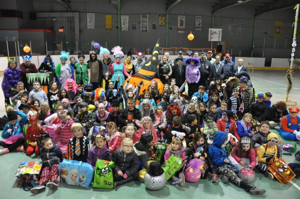 Les jeunes de Newport ont souligné l'Halloween