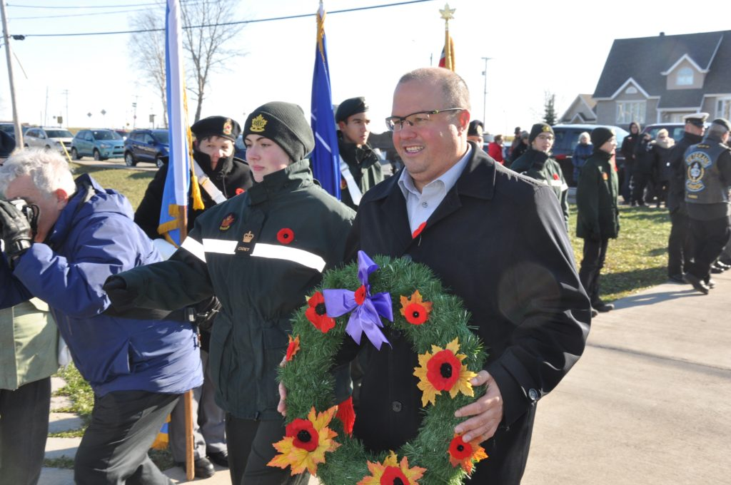 Plusieurs centaines de Gaspésiens ont souligné le jour du Souvenir