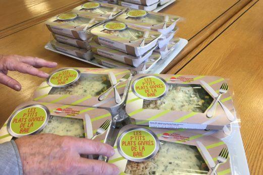 Le Centre d'action bénévole Gascons – Percé offre de petits plats givrés !