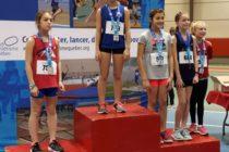 16 médailles pour École d'Athlétisme Brigitte Paradis à Université Laval