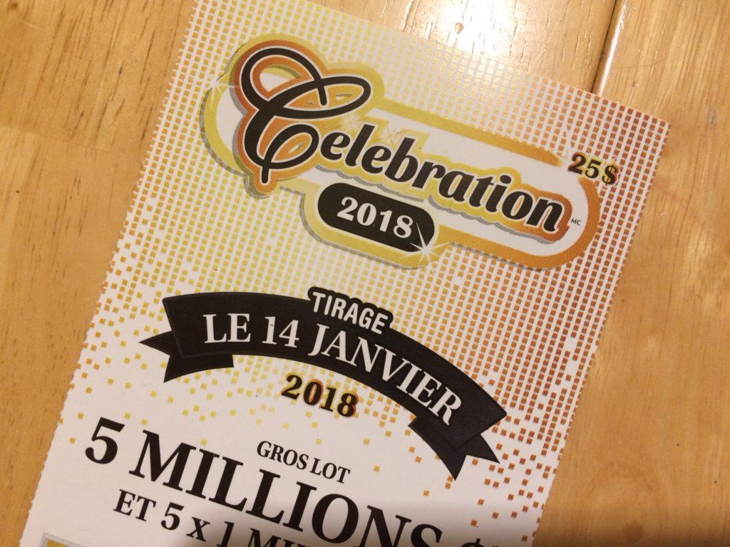 Loto-Québec s'engage à ne pas répéter les erreurs de sa loterie Célébration 2018