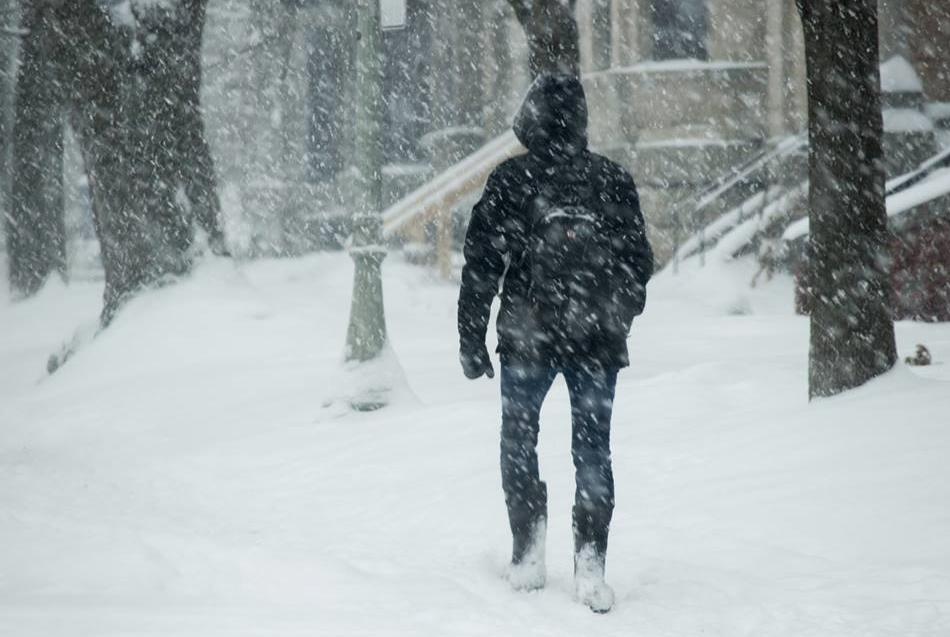 Pluie et neige pour le secteur