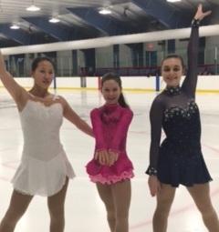 Trois patineuses du CPA de Grande-Rivière aux Championnats provinciaux