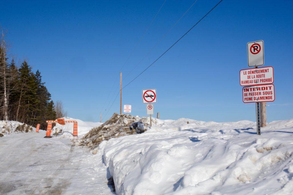 Déneigement de la route des Rameaux: vers une entente pour l'hiver prochain
