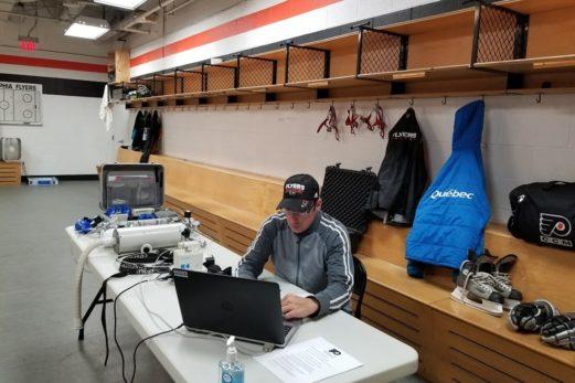François Whittom souligne cette année ses 20 ans avec les Flyers