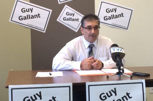Guy Gallant fait le saut comme candidat indépendant dans Bonaventure